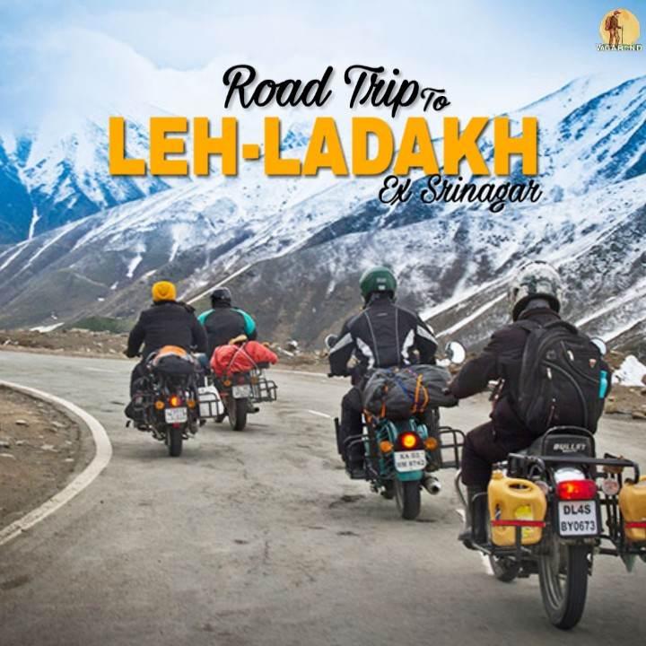 ladakh trip-ex srinagar - vagabond holidays